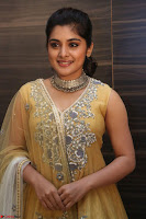 Nivetha Thamos in bright yellow dress at Ninnu Kori pre release function ~  Exclusive (82).JPG