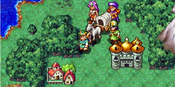 Dragon Quest IV Mapa
