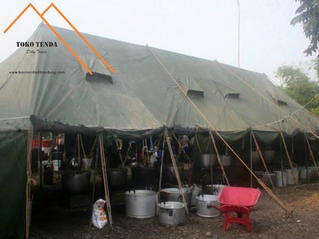 Tenda Dapur TNI