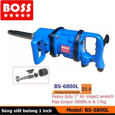 Súng vặn bulong 1inch BS-6800L