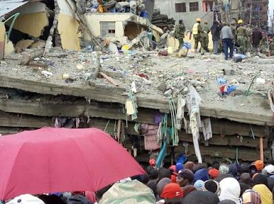 Just in: Scores dead, Many injured as Heavy rain falls in Kenya (photos)