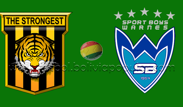 The Strongest vs. Sport Boys - En Vivo - Online - Torneo Apertura 2018