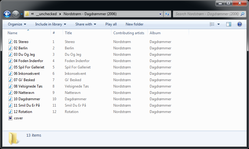 Undiscovered Freeware Reviews: Creating an M3U8 Unicode Playlist for