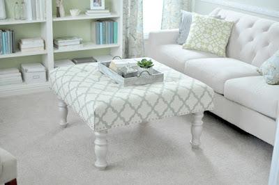 trasformare un tavolino in un sofà