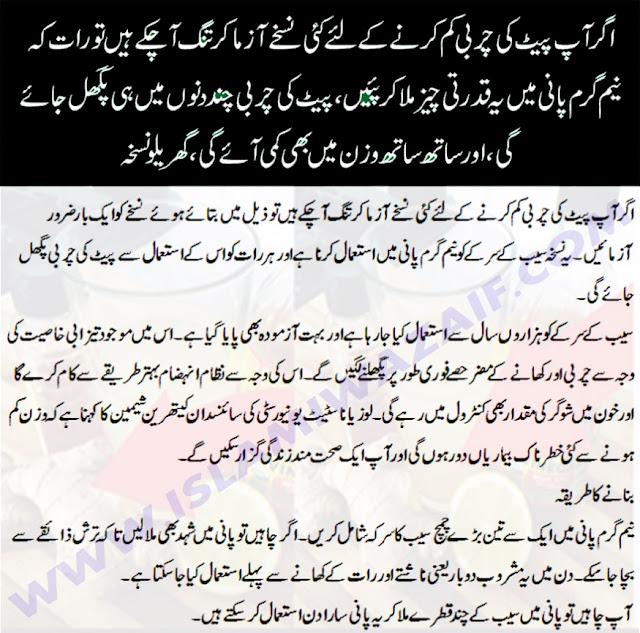fori charbi pighlane ka totka in urdu