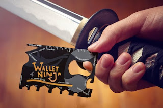 Image: Wallet Ninja - World's First 100% Flat Multi Tool