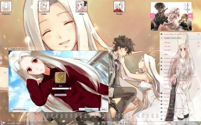 Fate/kaleid liner Prisma☆Illya - Irisviel von Einzbern Theme Win 7 by Andrea_37