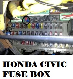 honda insight fuse box Honda Accord Fuse Box Diagram 2011 Honda Insight Fuse Box Location #8
