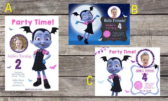 Please Plan My Party Disney Junior Vampirina Ideas