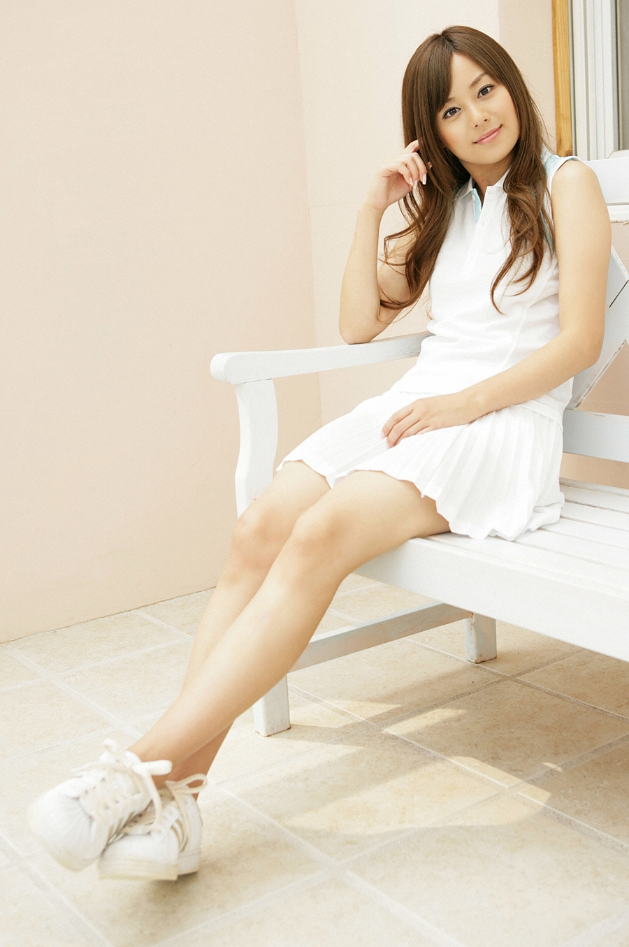 Japanese Girl Pictures (cute pic): Play tennis wiht Jun