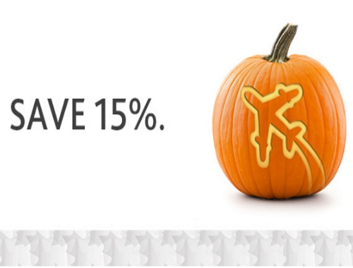 Air Canada 15% Off Halloween Sale