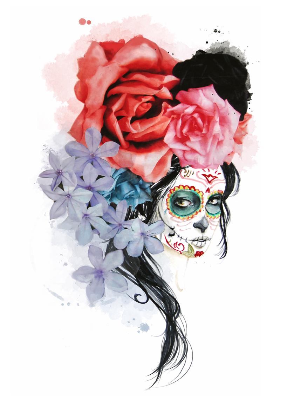 Cute Sugar Skull Wallpaper Menganita De Cual