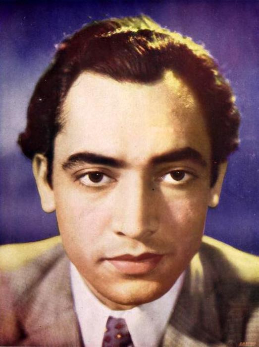 Kishore Sahu in 1940