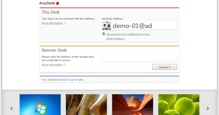AnyDesk 1 1 0 Beta Available Now   INFINITY Club