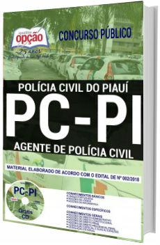 Apostila Agente de Polícia Civil do Piauí 2018 PC-PI