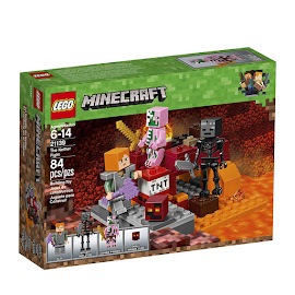 Minecraft The Nether Fight Lego Set