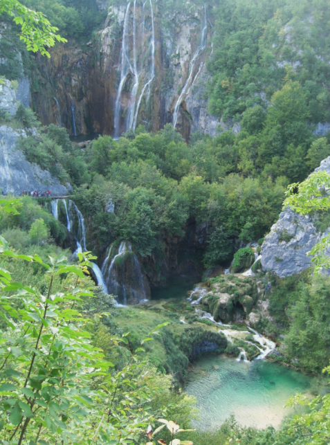 European Natural Wonder #1: Plitvice Lakes & Falls: Croatia
