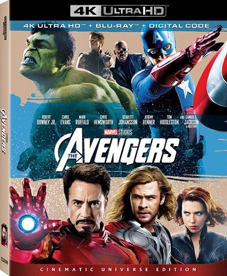 The Avengers 4K (Los Vengadores 4K) (2012) 2160p 4K UltraHD HDR BluRay REMUX 55GB mkv Dual Audio Dolby TrueHD ATMOS 7.1 ch
