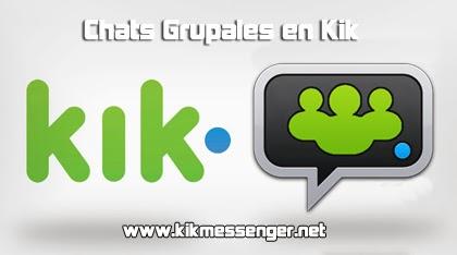 Como crear un chat grupal en Kik Messenger