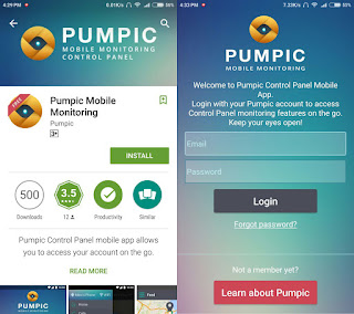 Pumpic Android App