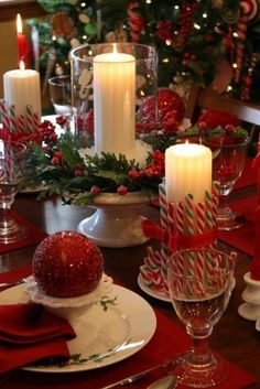 Time To Decor Up For Christmas Wedding Table Centerpieces Decoration Ideas Whether Its Festive Still You Need Make Awe Inspiring