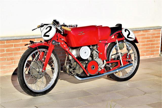 1939 Moto Guzzi 205 Albatros Compressore Gerolamo