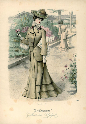 fashion magazine De Gracieuse late 1900s