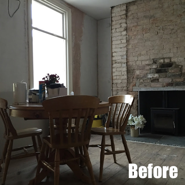 Dining Room Renovation Before