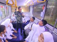 Diresmikan Walikota Bogor, Pelajar Sambut Baik Beroperasinya Bus Sekolah