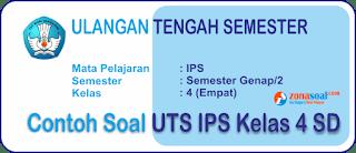 Soal UTS 2 IPS Kelas 4 SD Terbaru dan Kunci Jawaban
