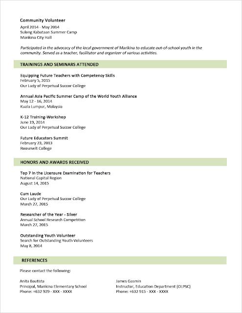 contoh resume baru contoh o
