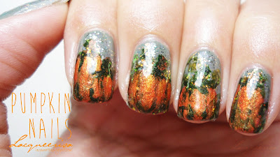 Lacqueerisa: Pumpkin Nails