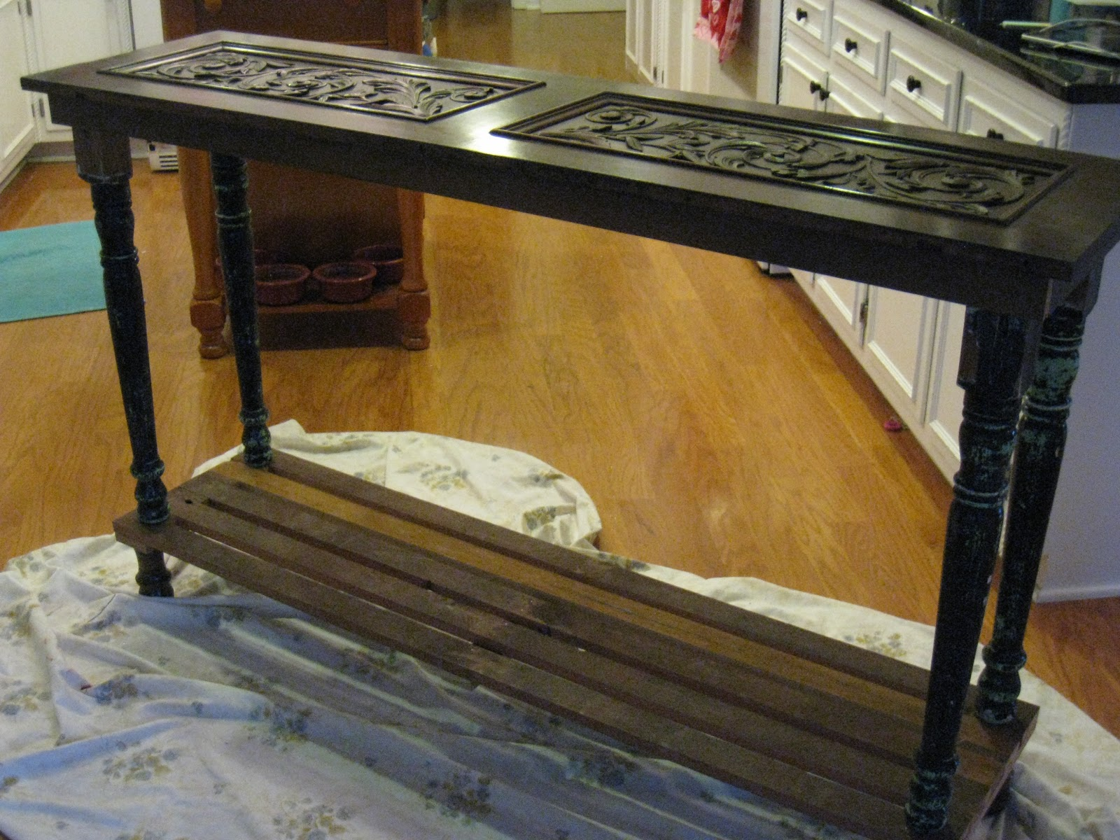 Repurposed For Life Kitchen Island Made Of Piano Parts