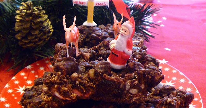 Christmas Cake Recipe Uk Nigella: The Vegetarian Experience: Christmas Rocky Road Cake