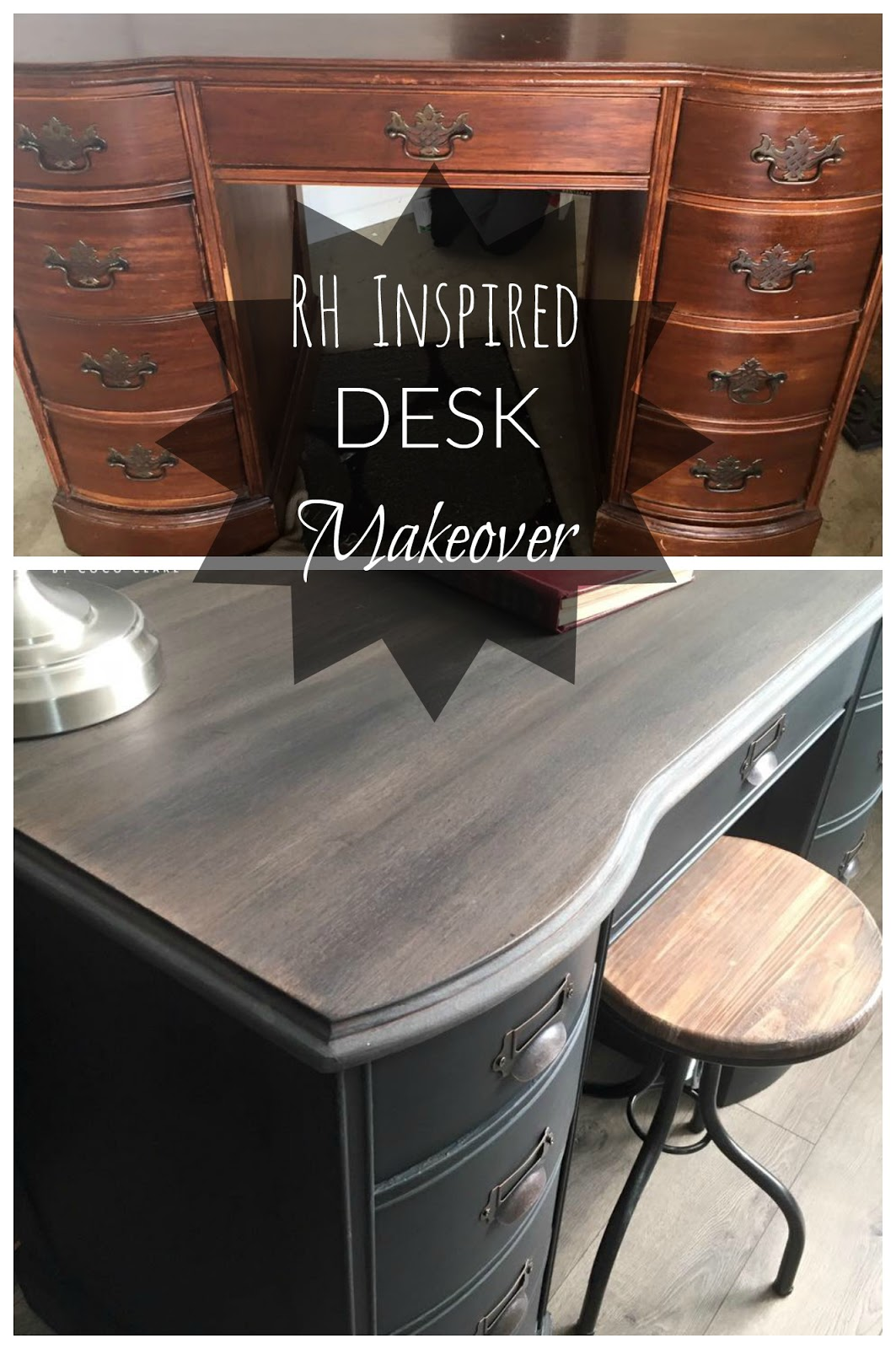 new feel and collection gorgeous inspired wood liberty wilson restoration we desks this loving blog furniture look our mixed iron re in sturdy hardware give desk a