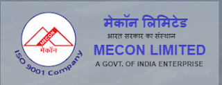 MECON Limted Recruitment 2018