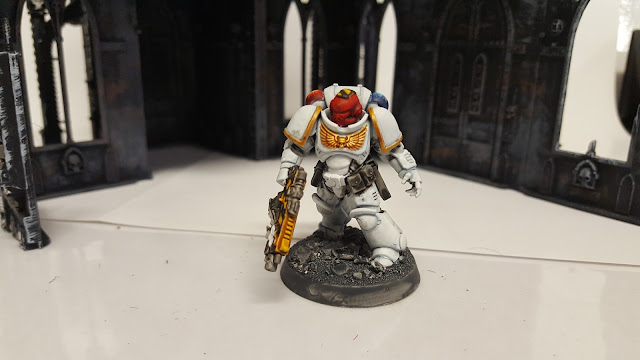 space marine field police