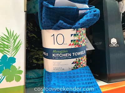 Get some cleaning done with Town and Country Living Microfiber Kitchen Towels