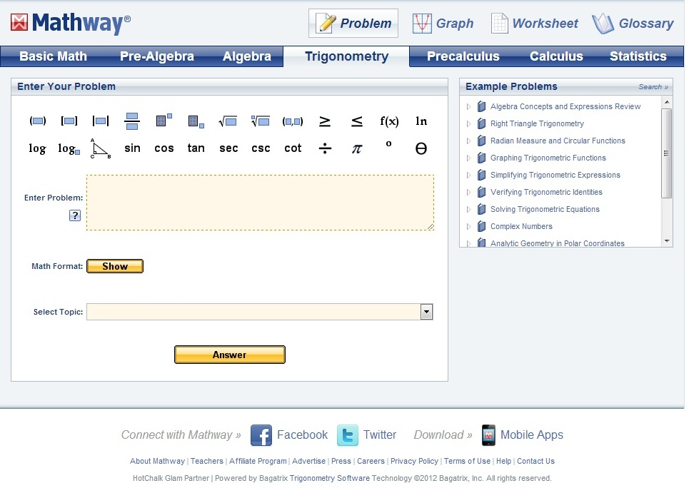 Instruspark: MathWay - An app for step by step problem solving on