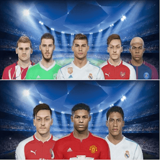 PES 2018 New Winter Facepack By LR7