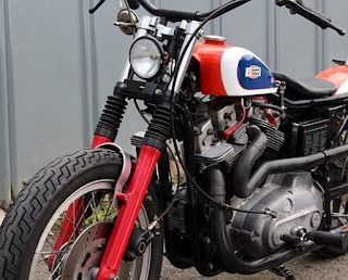 xr 1000 street tracker by shix motorcycles front left angle