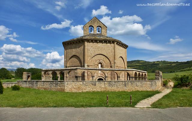Iglesia de Sta María de Eunate, Navarra