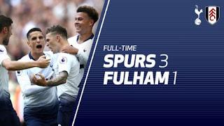Tottenham Hotspur vs Fulham 3-1 Video Gol & Highlights