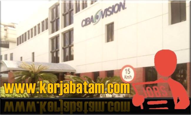 Lowongan Kerja Batam Alcon Ciba Vision