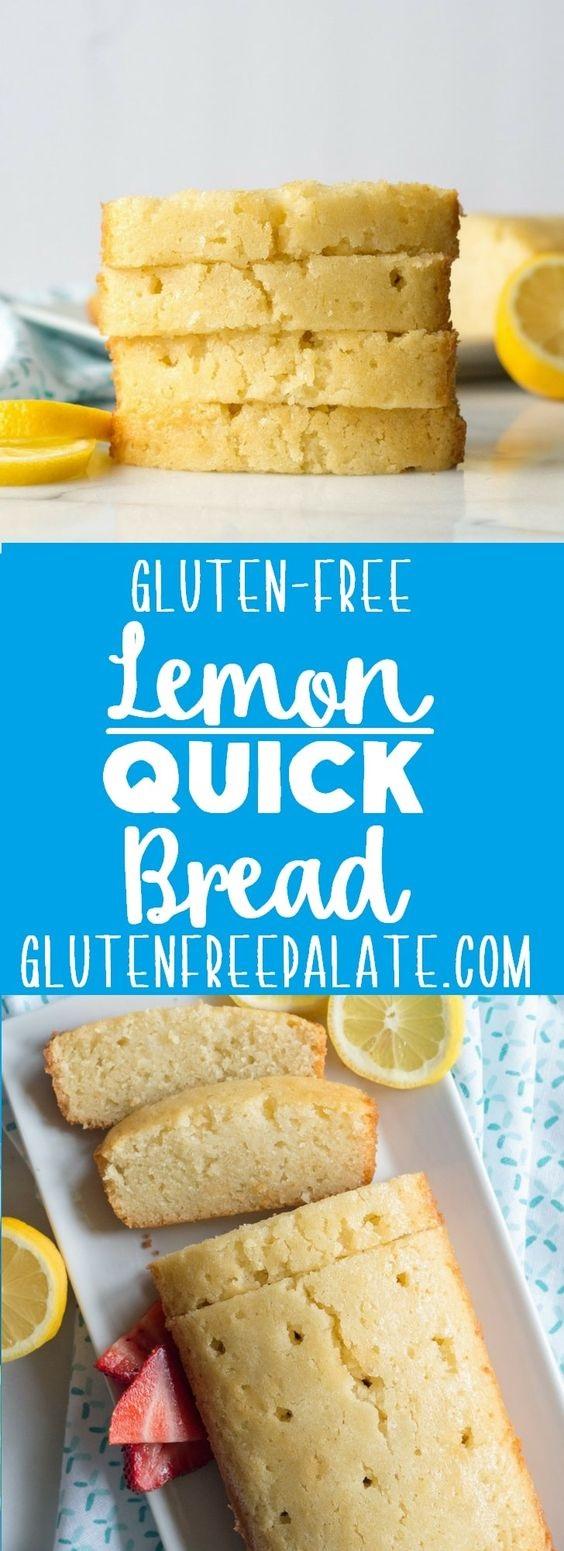 Easy Gluten-Free Lemon Bread