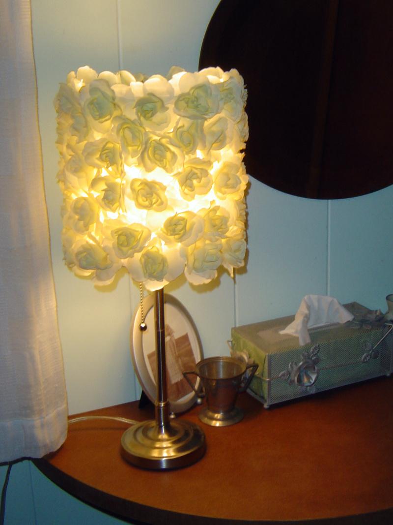 Knockoff Lampshade - DIY   Sallygoodin