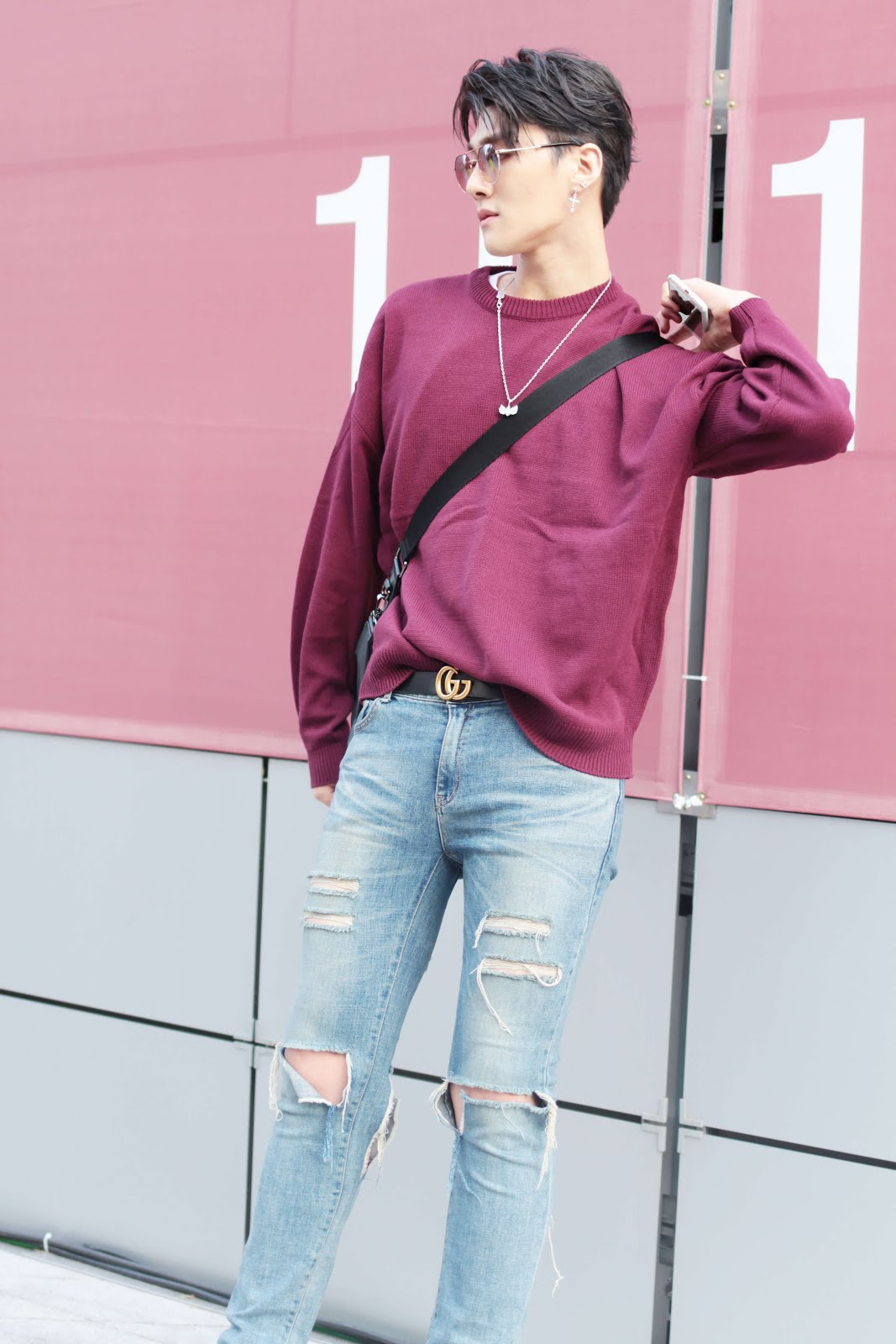 seoul fashion week ss18 fw17 streetstyle shin jaehyuk