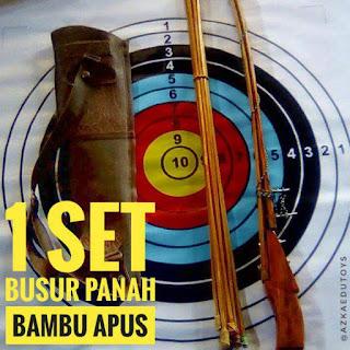 Jual Busur Dan Panah Murah Bahan Bambu Apus