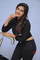 Neha Deshpandey in Black Jeans and Crop Top Cute Pics Must see ~  Exclusive Galleries 006.jpg