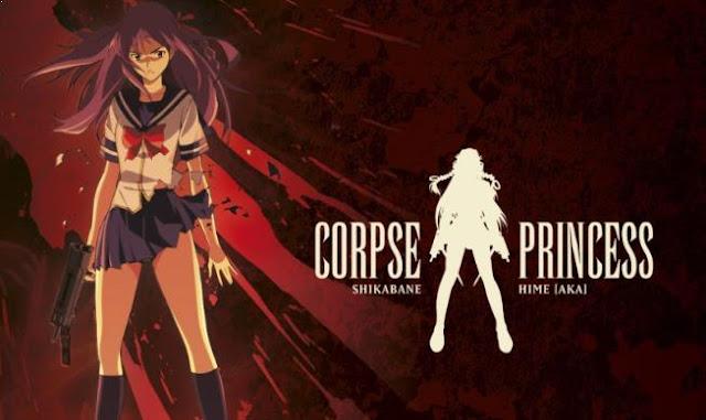 Shikabane Hime: Aka - Daftar Anime Martial Arts Terbaik dan Terpopuler